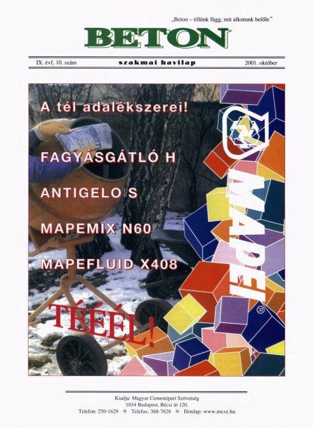 2001. október
