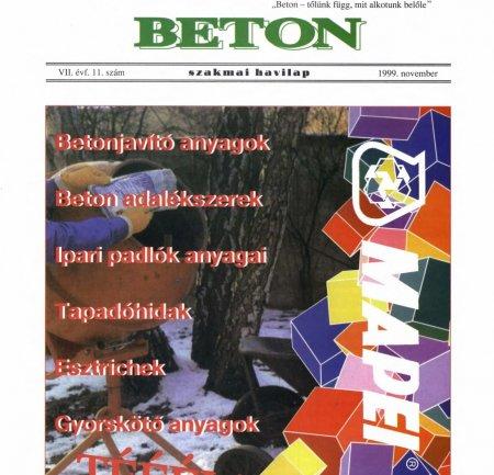 1999. november VII. évf. 11. szám