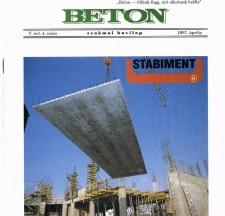 1997. április V. évf. 4. szám