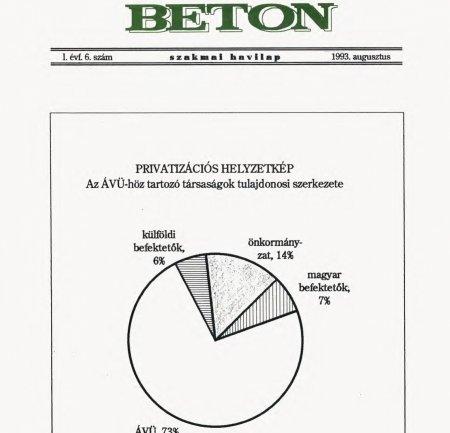 1993. augusztus I. évf. 6. szám