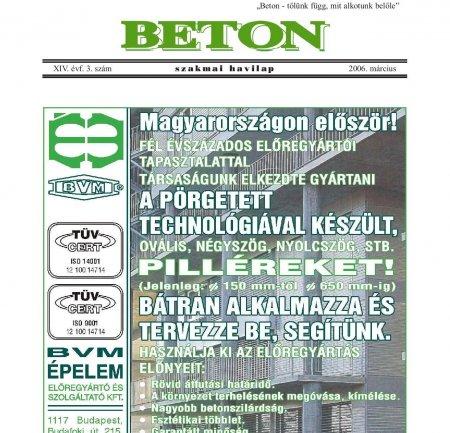 2006. március XIV. évf. 3. szám