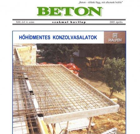 2005. április XIII. évf. 4. szám