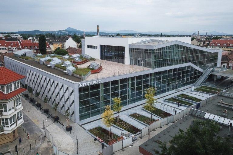A Minden építés alapja pályázat nyertese: Újpesti Vásárcsarnok és UP Rendezvénytér