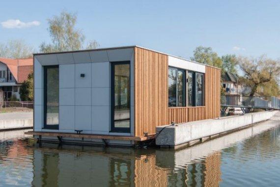 Moduláris úszó házak készítése a Ferrobetonnál